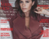 Victoria Beckham stuns on the cover of Vogue magazine