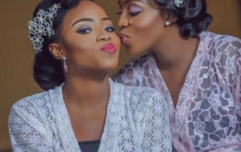 Former BBA star Geraldine Iheme's twin sister gives birth to twins