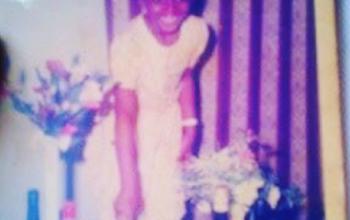 Waje shares cute childhood photo