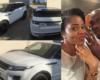 Photos: Footballer Dickson Nwakaeme buys Range Rover for his pregnant wife