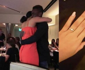 Aww! Emmanuel Emenike proposes to MBGN 2014 Iheoma Nnadi after dating for 6 months (photos)