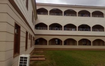 Photos: Buhari commissions the massive Osogbo government high school