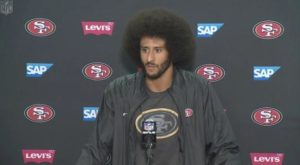 Colin Kaepernick Meets the Press; He's Giving $1M to Community Organizations