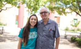 82-year-old Grandpa Starts the Fall Semester at College … with his Granddaughter
