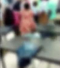 Moment gang of 3 girls and a boy launch vicious attack on pregnant Alabama high school classmate (video)