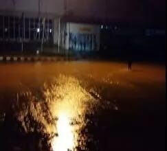 SEE what happened to Enugu airport after rainfall (photos)