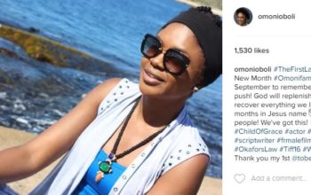 LOL! Here's how these Nigerian celebrities entered the new month