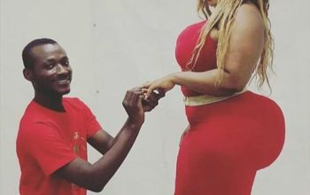This couple got blasted after being engaged, see why (photo)