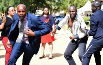Shame! Top politician given 'underwears' as gift at House of Assembly (photo)