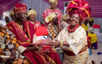 10 Times veteran actress made a statement with her gele (photos)
