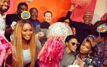 See how Nigerian celebrities entertained Mark Zuckerberg in Lagos (photonews)
