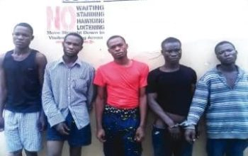 31 armed robbers arrest in Lagos in 7days