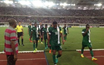 LIVE: Nigeria 1 – 0 Tanzania (AFCON 2017 qualifier)