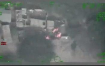 WATCH how Nigerian Air Force bombs Boko Haram commanders (Video)
