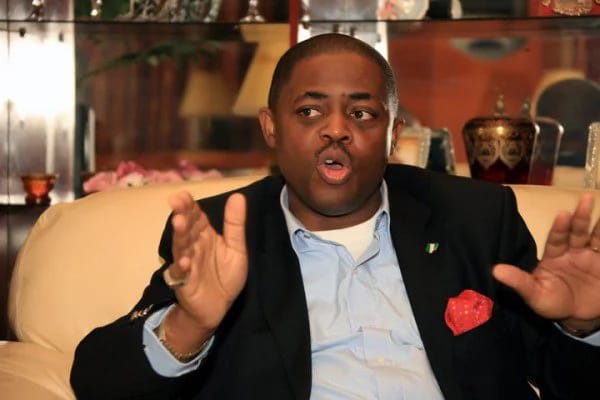 Counter attack! Fani-Kayode spanks GEJ's aide's buttock publicly for supporting Hausa people