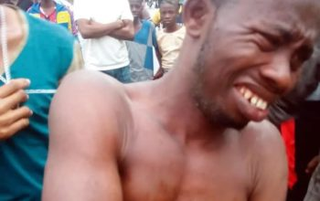 Angry mob did THIS to designer caught molesting infant (Photo)