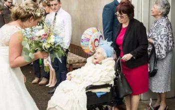 Wow! Meet this 100-year-old bridesmaid (photos)