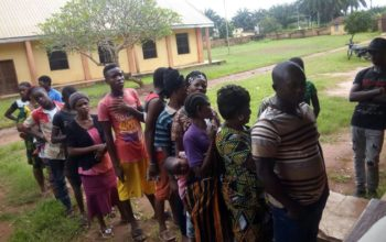 Edo guber: INEC begins distribution of PVCs to voters (photos)