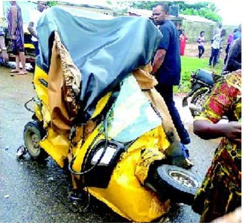 Okada riders die in ghastly road accident (Photo)