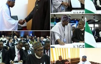 These five PHOTOS will show you what Buhari was up to this week