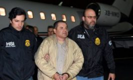 Photos of Drug Lord El Chapo As He Arrives US After Being Extradited