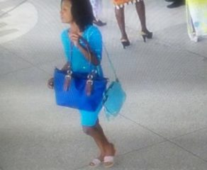 Lady Exposed By CCTV After Stealing A Bag In Church