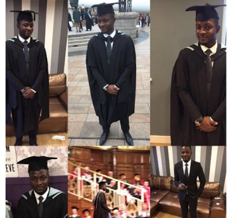 Reuben Abati's son graduates with LL.M from UK University