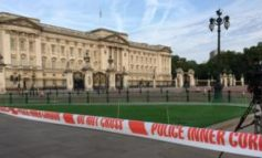 Terror probe as man with weapon arrested outside Buckingham Palace