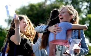 GCSE results: Pass rates and top grades edge upwards