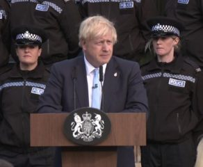 Boris Johnson police speech: Chief criticises PM's use of officers