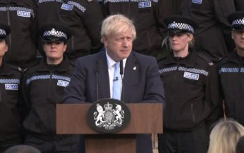 Boris Johnson police speech: Chief criticises PM's use of officers