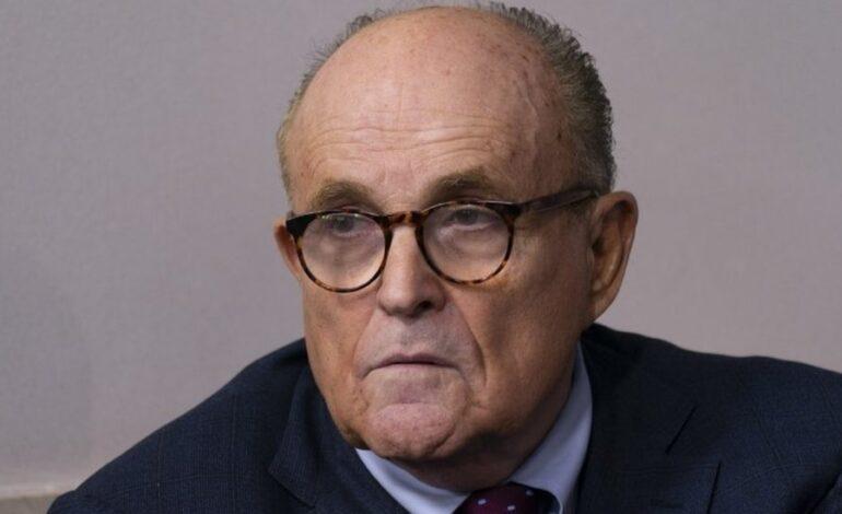 Trump's lawyer Giuliani dismisses 'compromising' clip from new Borat film