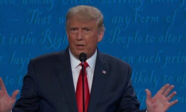 Trump's debate mic appeared to cut off during health care answer